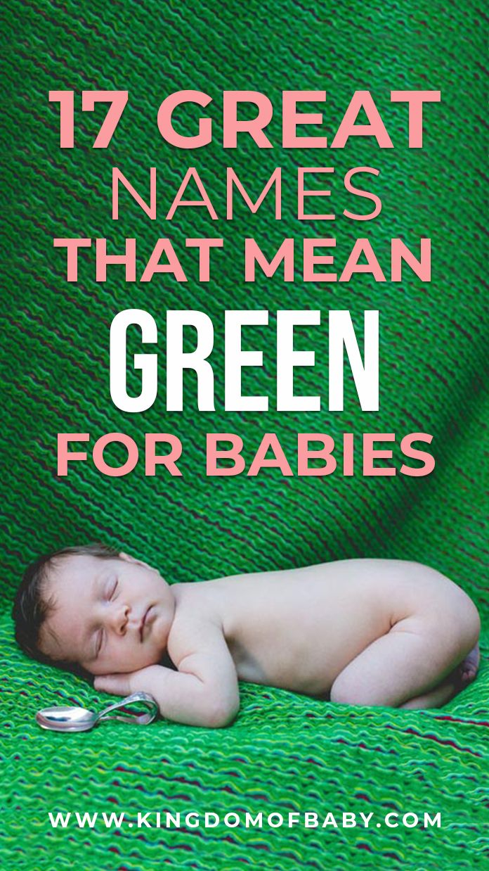 Names that mean green