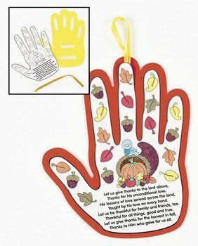 12 Pack of Harvest Poem Handprint Crafts. This is a really easy craft for all ages and every one can be individual. Once coloured in, there are self adhesive tabs to stick the poem to the foam hand and a satin ribbon for hanging the finished craft.Handprint measures approximately 22cm.