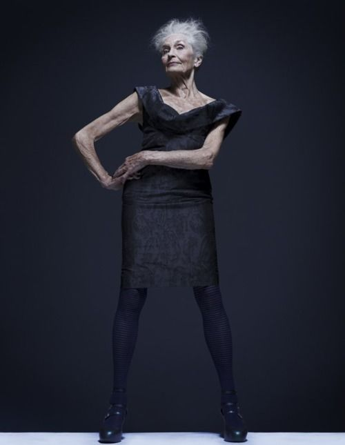 Daphne Selfe - World's Oldest Model | Oddity Central - Collecting Oddities