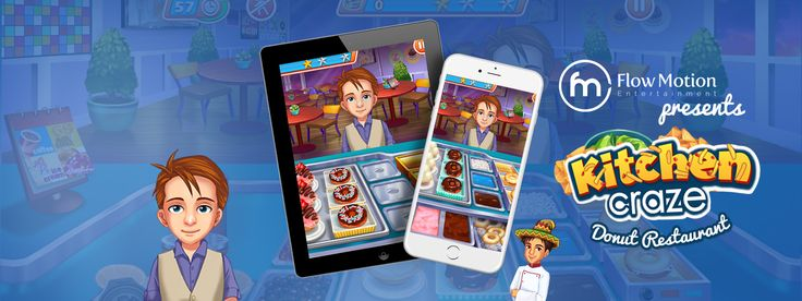 The Donut Restaurant game is becoming the hot favorite among all those who want to enjoy the donut making process. It is easy to download & super-fun to play.