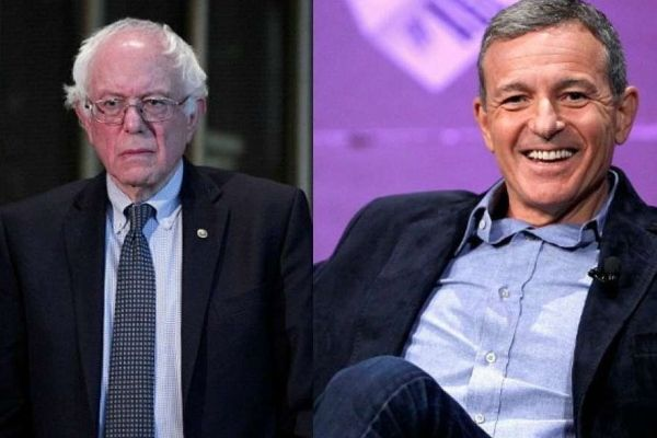 BOOM! Disney CEO Hits Back At Bernie Sanders: HOW MANY JOBS HAVE YOU CREATED? (VIDEO)