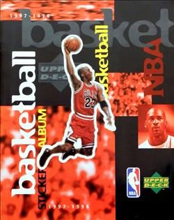 1997-1998 Upper Deck NBA Sticker Album