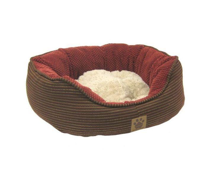 Pillow Soft Dog Bed Dark Rust Pet Cushion Red Comfortable Cat Pad Sleep Supplies | eBay
