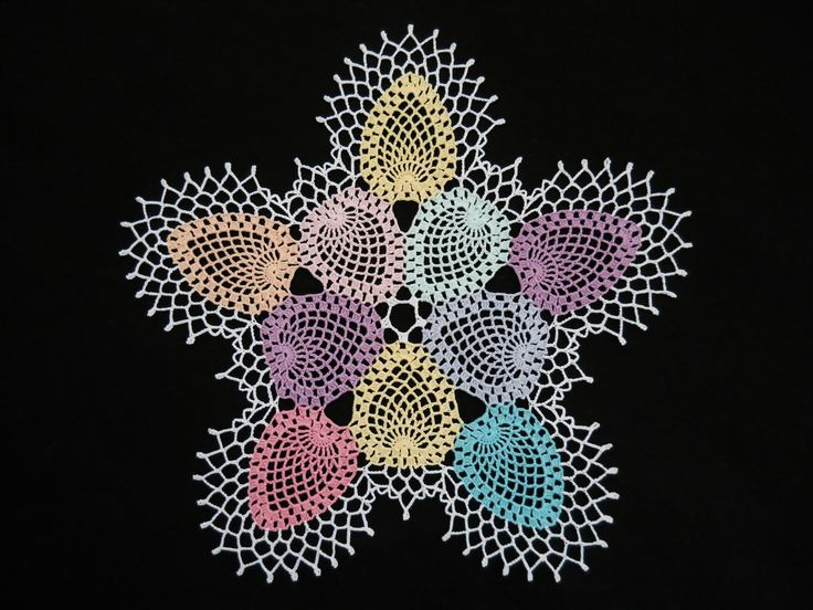 Easter Pineapple Doily: Pinappl Doilies, Easter Pineapple, Thread Crochet Doilies, Pineapple Doilies, Pretty Doilies, Easter Eggs, Doilies Tops, Crochet 10, Crochetdoili