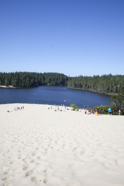 Family activities at the Oregon dunes near Florence, Oregon -- including where to sleep and eat.