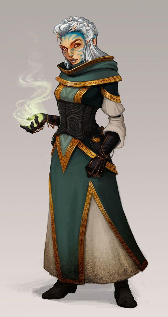 (Art of Dreamfall Chapters: Reborn. Na'ane.)