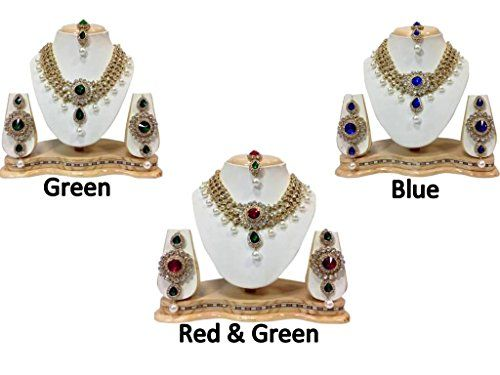 Indian Bollywood Inspired Gold Plated Multi Stone White P... https://www.amazon.com/dp/B01MS09023/ref=cm_sw_r_pi_dp_x_OnF-yb94HSQV5