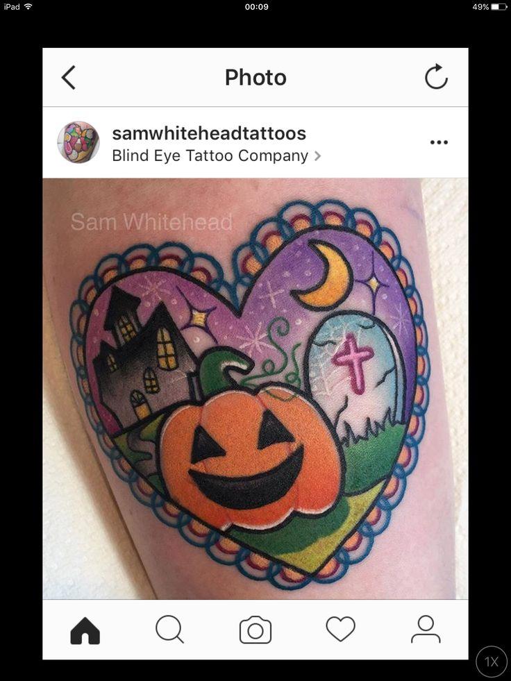 Pin by Barík Kramerová on tattoos Halloween tattoos