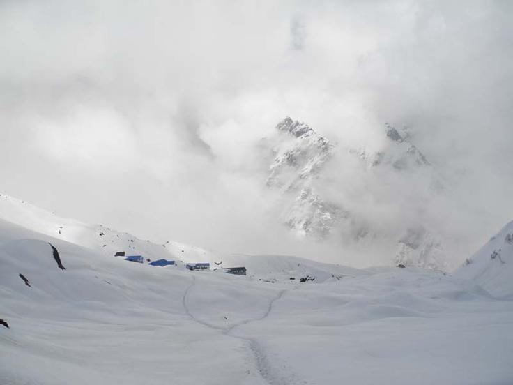 Machhapuchhre Base Camp Clouds