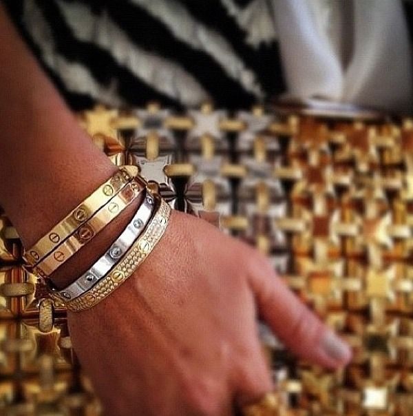 Someday..... I would love one (or two!) of these bracelets - Cartier...... Love them!!!