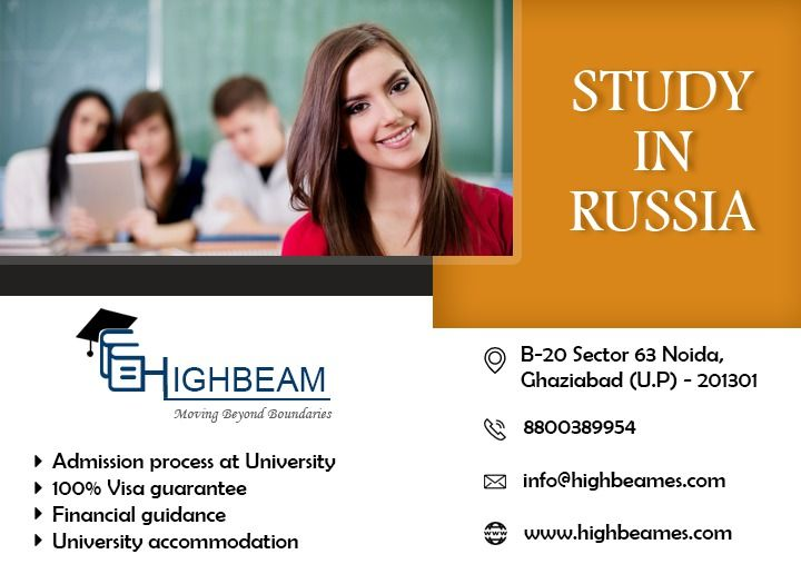Top consultancy in India -  High Beam Education System in Russia