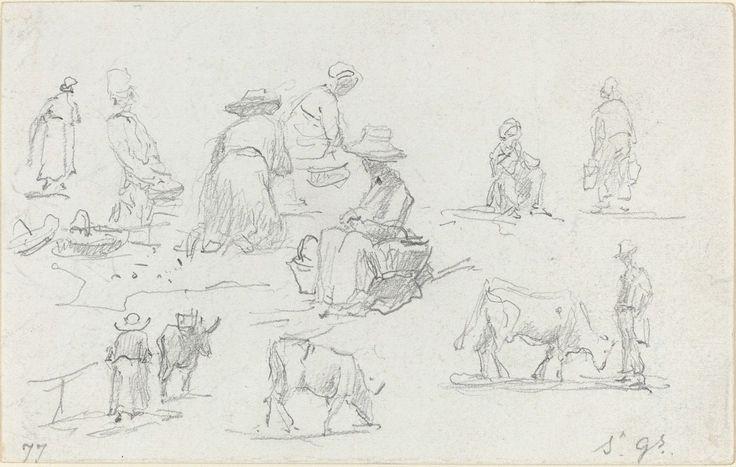 Bilderesultat for eugene boudin sketches