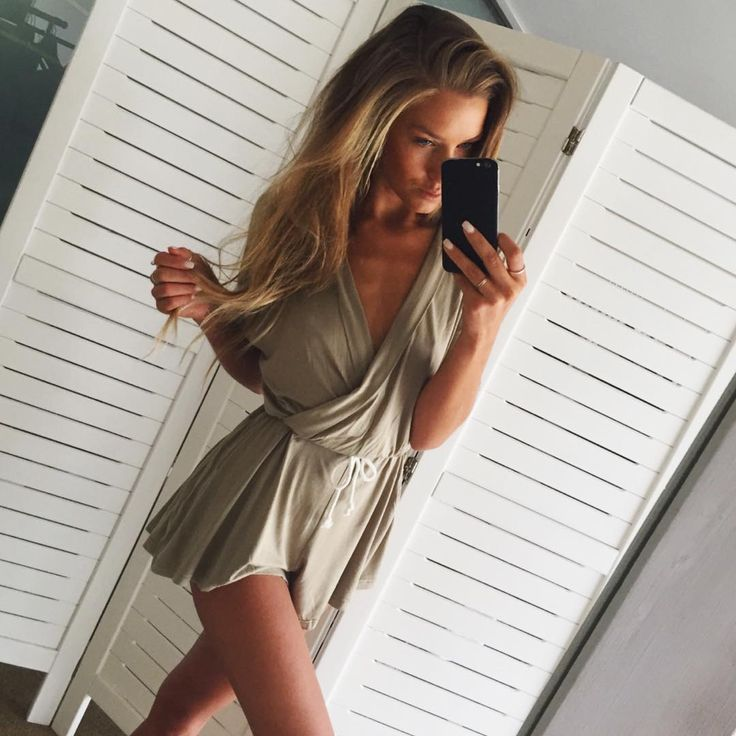 Things we love! Playsuits and khaki... The Khaki Jersey Playsuit available now at #saboskirt.com