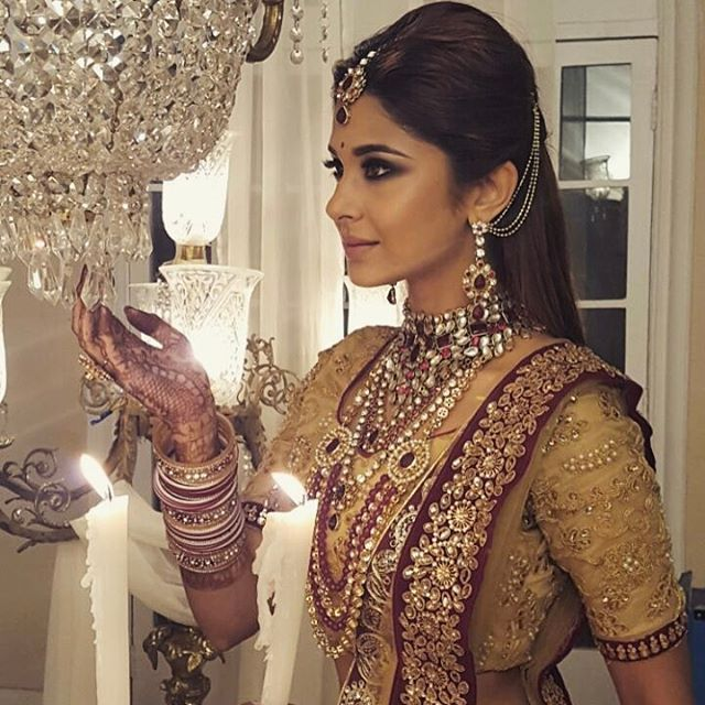 "201.9k Likes, 1,407 Comments - Jennifer Winget (@jenniferwinget1) on Instagram: ""Really gone all out with the Indianness on this one, huh? #weddingready and how!!!"""