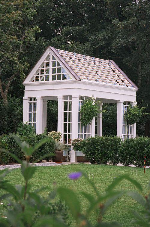 Best 25 gazebo ideas on pinterest diy gazebo pergola for Octagonal greenhouse plans