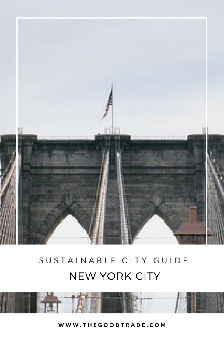 Sustainable City Guide: 10 Places To Eat, Stay & Shop In New York City | Whether you're looking for a cozy place to stay or a zero waste meal, we've rounded up ten of our favorite spots across the five boroughs.
