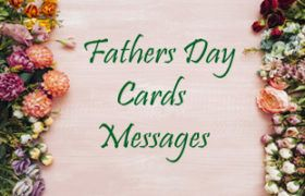 father's day card messages...