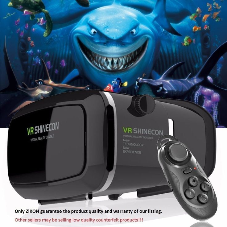 New 3D Virtual Reality VR Google Cardboard Glasses + Bluetooth Gamepad Controller (Size: 260 g, Color: Black)