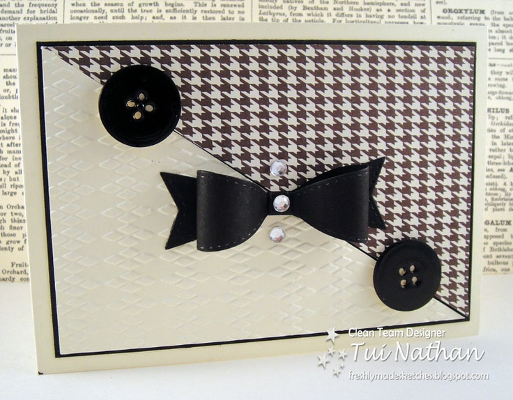 Stampin-TimeStampintim, Crafts Ideas, Cards Ideas, Man Cards, Cards Galore, Black Bows, Cards Inspiration, Note Cards, Stampin Tim