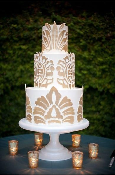 find this pin and more on wedding cakes art deco