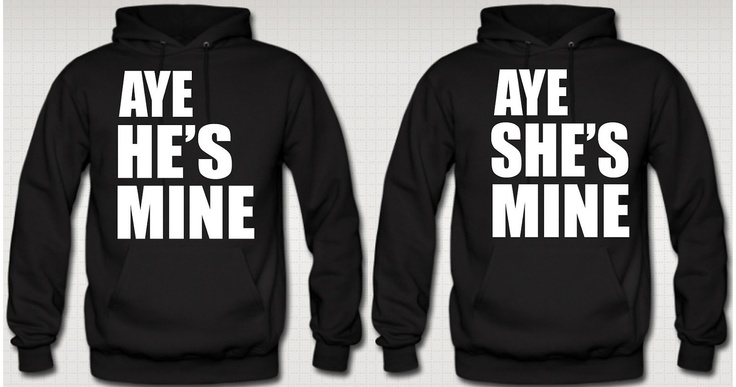 Cool relationship hoodies