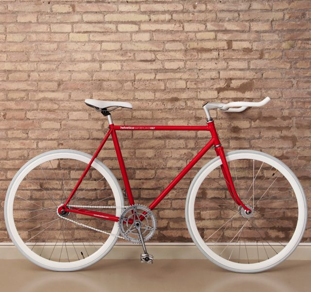 Fancy - Helvetica Bike
