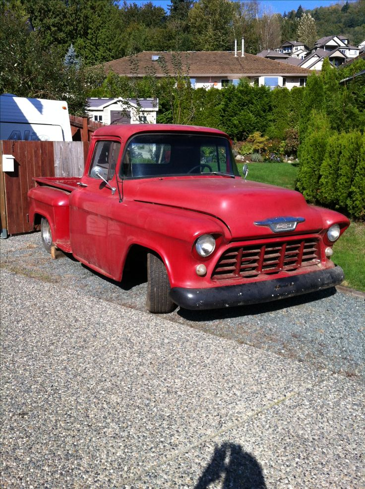 Pin by Clay Larsen on 1955, 1956, 1957 Trucks 55 chevy