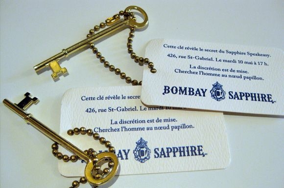 Speakeasy Keys/invitations
