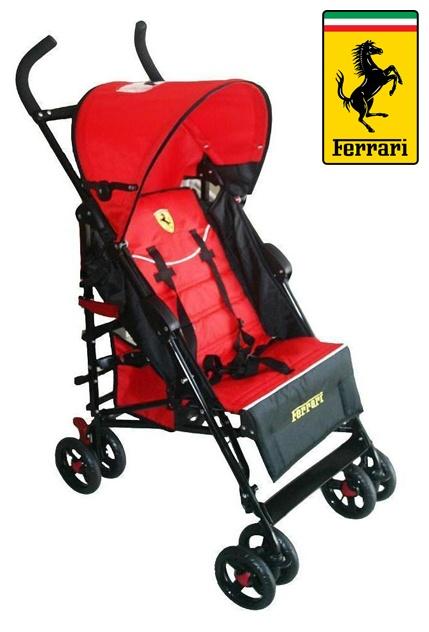 Ferrari marka bebek arabası, mama sandalyesi veya oto koltuğu