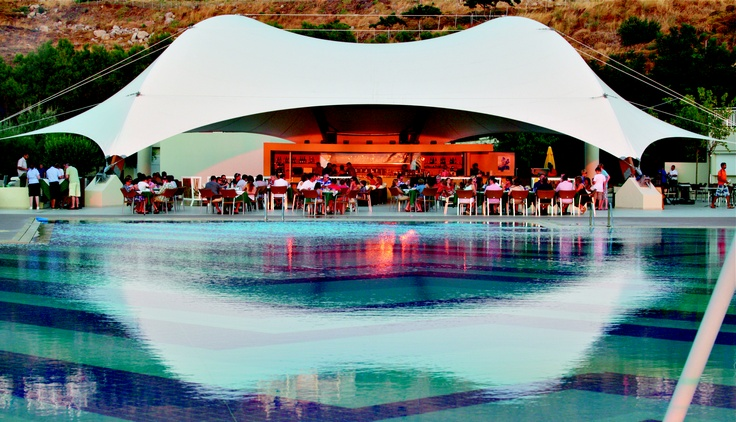 Lemnos Pool and Pool Bar    Lemnos Beach Holidays, Greece.    Elemis Spa  Beautiful rooms and contemporary bathrooms  Fantastic swimming pool  Excellent dinghy sailing  Spacious landscaped grounds  Adult only indoor pool  Traditional and unspoilt island