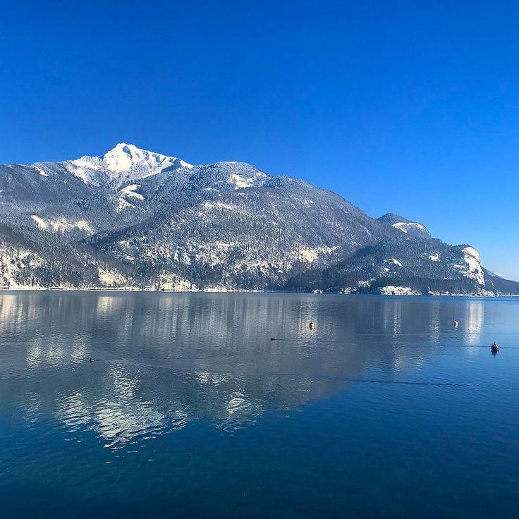 Можно сказать  спустился с гор на землю   #зима #австрия #альпы #мороз #снег #путешествие #travel #austria #winter #alpen #january #osterreich
