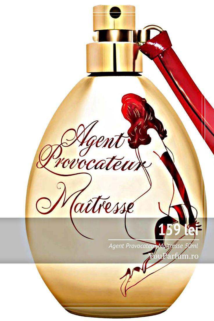 Agent Provocateur Maitresse este un parfum pentru femeile cărora le place să provoace toți barbații din jurul lor. Vrei să te transformi într-o seducătoare incredibil de atrăgătoare, căreia nimeni nu îi poate rezista? Plictisită de parfumurile obișnuite și proaspete, a căror intensitate scade în timp? Atunci trebuie să ai această comoară aurie, delicată și seducătoare!