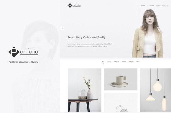 Portfolio - WordPress Theme by lazathemes on Creative Market