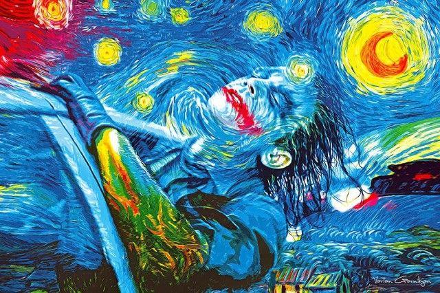 Famous Paintings Transformed into Batman Pop Art – Fubiz™