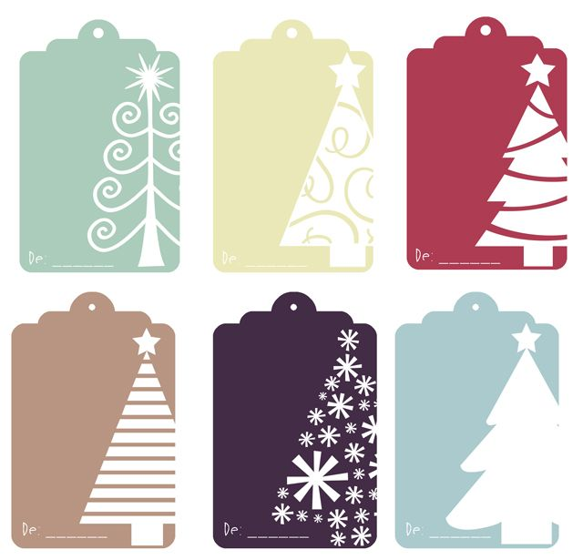celebra la navidad con estas etiquetas imprimible