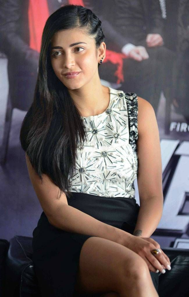 Shruti Haasan at Welcome Back promotions