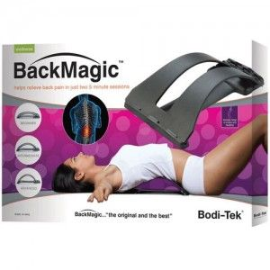 Shop Best Online Deals on Bodi-Tek Back Magic Spine Alignment Arch and Lumbar Support Muscle Stretcher