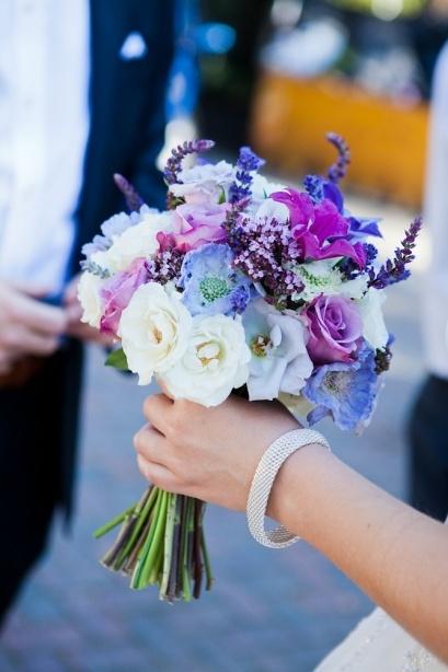 Lovely bouqet from a Hampshire Wedding - Sarah Legge Photography - Surrey Wedding Photographer