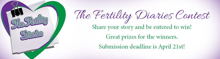 OUR FIRST CONTEST! This is open to anyone who has ever experienced infertility first hand. Visit our website and share your story! For updates, 'Like' our facebook page!