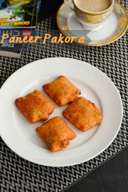Spicy Treats: Paneer Pakora Recipe | Easy Paneer Snack Recipe - Paneer Pakora