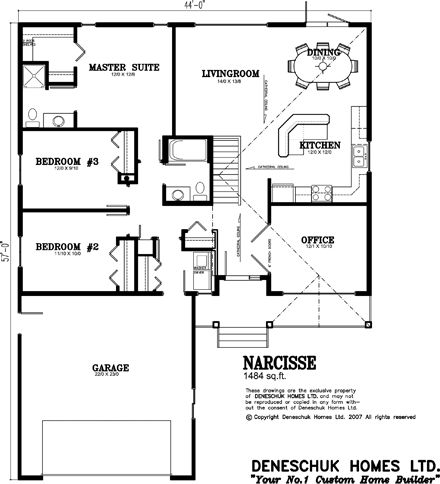 Deneschuk Homes 1400 1500 Sq Ft Home Plans Rtm And