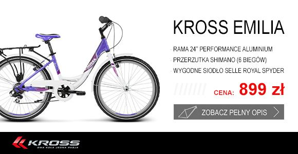 Szukasz pomysłu na #prezent ? Zobacz niezwykły #rower #Kross Emila!  Serdecznie zapraszamy.   http://www.sporti.pl/product-pol-37593-Rower-Kross-EMILIA-24-2014.html