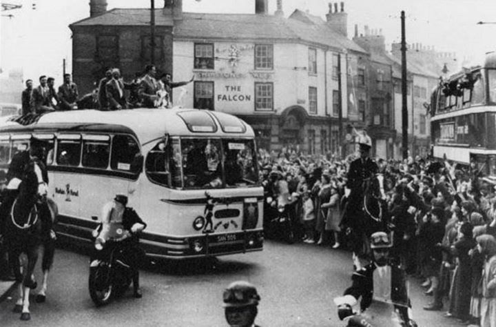 Nottingham Forest Football Club, Canning Circus 1959.  F.A. Cup Win, 1959.