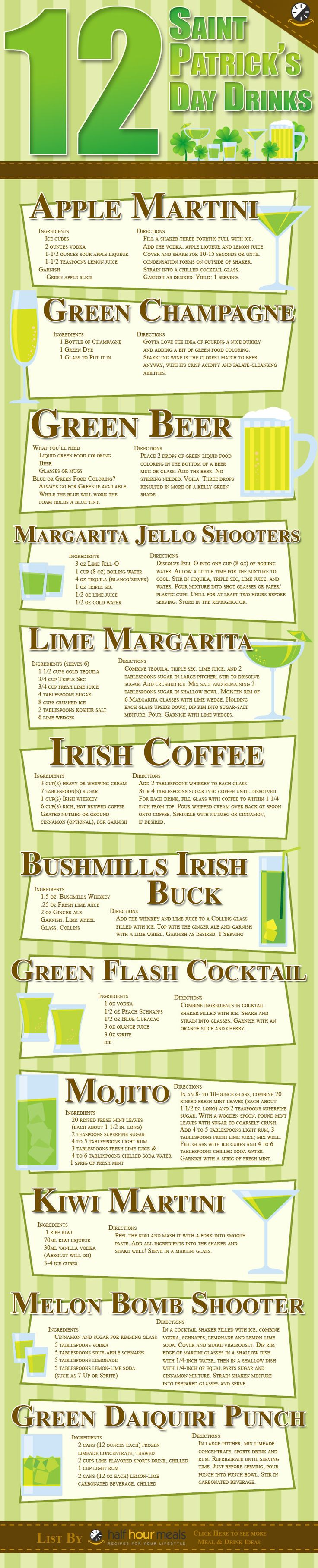 St. Patrick's Day Drink Recipes: http://drinkedin.net/blog/253-12-drinks-to-celebrate-st-paddys-the-right-way.html