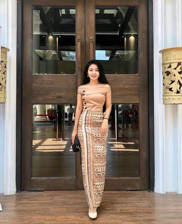 Myanmar Dress Design, Myanmar