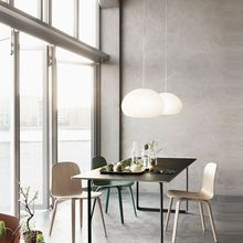 Светлый Творческой Самореализации стеклянный подвесной светильник Современной Гостиной Ресторан Спальня Исследование современный стеклянный потолок лампы