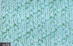 Patrón #1341: Punto Tupido a Dos Agujas | CTejidas [Crochet y Dos Agujas]