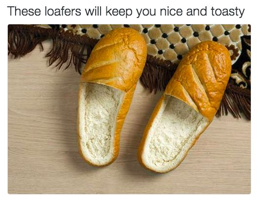 The perfect pair of shoes:   33 Puns That Will Make You Laugh Harder Than You Should
