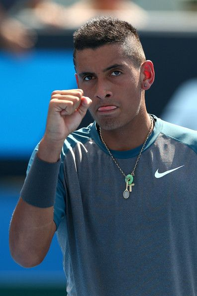 Nick Kyrgios Pictures - Australian Open: Day 2 - Zimbio