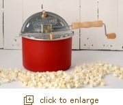 Red Whirley Pop Stovetop Popcorn Popper